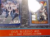 MIAMI DOLPHINS Sports Memorabilia DAN MARINO #13 ALL TIME PASSING LEADER
